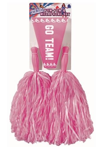 Pink PomPom and Megaphone
