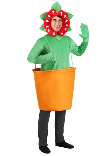 Man-Eating Venus Fly Trap Costume for Adults