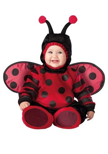 Click Here to buy Itty Bitty Lady Bug Baby Costume from HalloweenCostumes, CDN Funds & Shipping