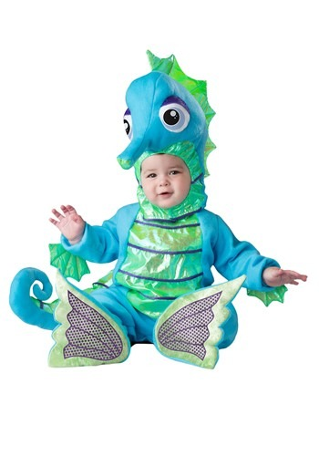 Click Here to buy Silly Seahorse Baby Costume from HalloweenCostumes, CDN Funds & Shipping