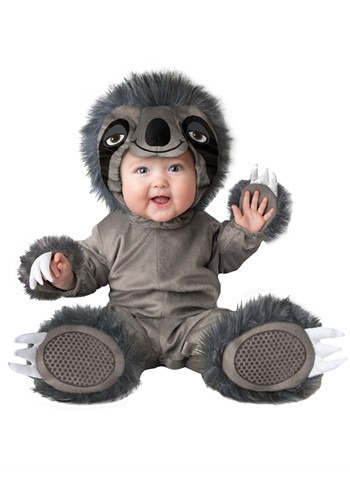 Click Here to buy Silly Sloth Baby Costume from HalloweenCostumes, CDN Funds & Shipping