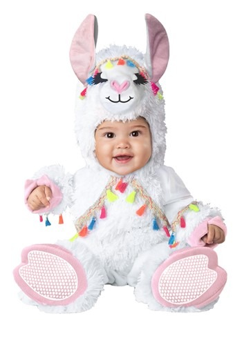 Click Here to buy Lil Llama Baby Costume from HalloweenCostumes, CDN Funds & Shipping
