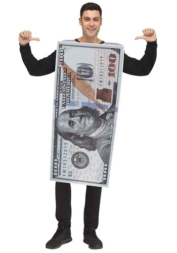 100 Dollar Bill Adult Size Costume