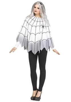 Women's Ombre Spider Web Poncho