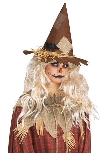 Scary Scarecrow Hat Adult