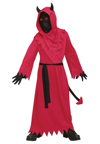 Click Here to buy Fade In/Out Devil Costume For Boys from HalloweenCostumes, CDN Funds & Shipping