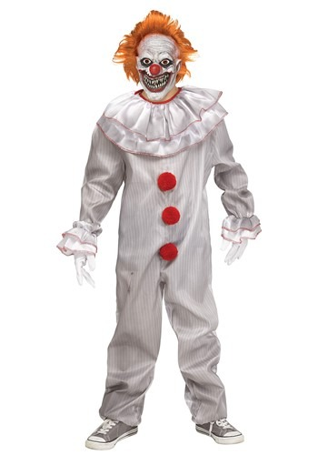 Click Here to buy Carnevil Killer Clown Boys Costume from HalloweenCostumes, CDN Funds & Shipping