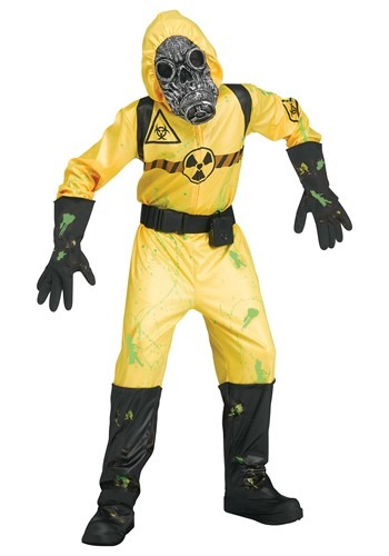 Click Here to buy Boys Sound FX Yellow Bio Hazard Costume from HalloweenCostumes, CDN Funds & Shipping