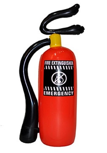 Inflatable Fire Extinguisher Prop