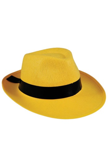 Click Here to buy Yellow Fedora Hat from HalloweenCostumes, CDN Funds & Shipping