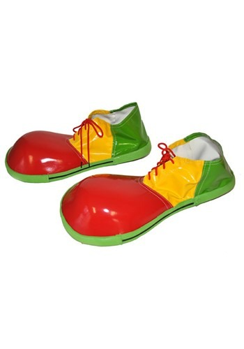 Jumbo Clown Costume Shoes