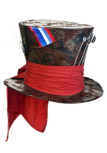 Jumbo Brown Mad Hatter Hat