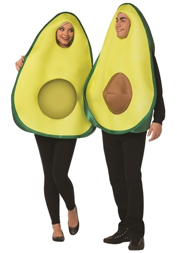 Click Here to buy Funny Couples Avocado Costume from HalloweenCostumes, CDN Funds & Shipping