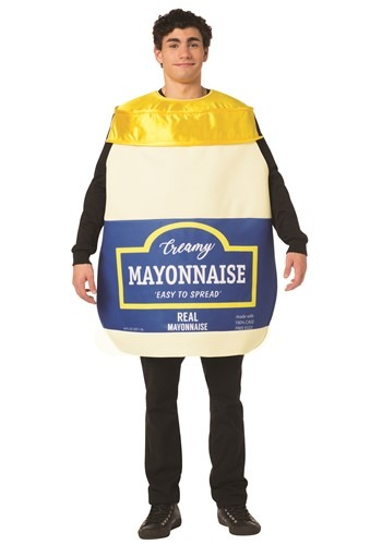 Funny Adult Mayonnaise Jar Costume