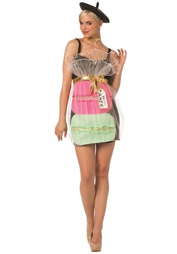 Womens Macaron Dress Adult Cookie
