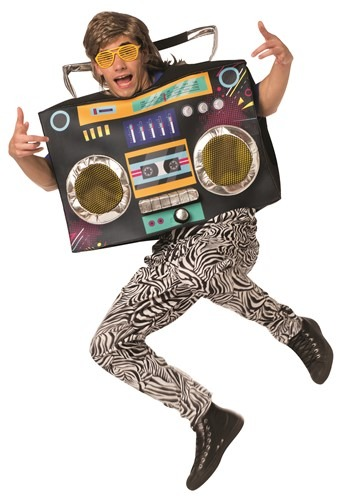 Funny Adult Boom Box Costume
