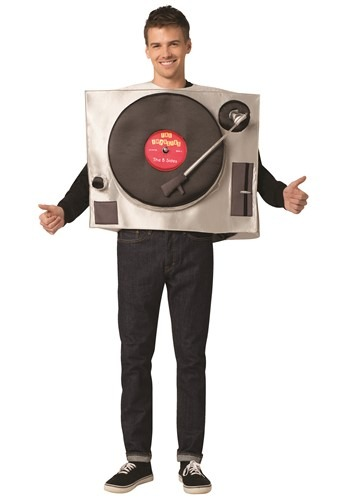 Funny Adult Turntable Costume