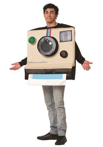 Funny Adult Instant Camera Costume