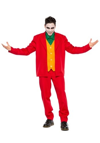 Mens Villain Costume Leisure Suit