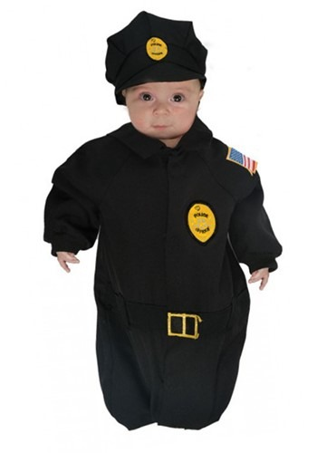 Infant Police Bunting Costume
