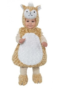 Toddler Llama Bubble Costume