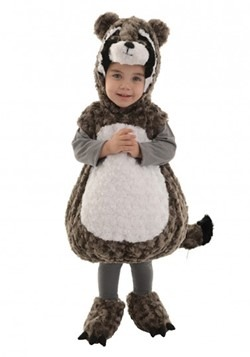 Toddler Raccoon Bubble Costume