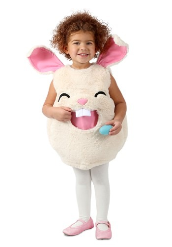 Click Here to buy Feed Me Bunny Kids Costume from HalloweenCostumes, CDN Funds & Shipping