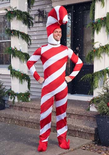 Candy Cane Christmas Costume for Adults