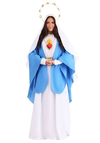 Click Here to buy Nativity Mary Womens Costume from HalloweenCostumes, CDN Funds & Shipping