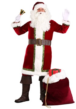 Men's Old Time Santa Claus Costume
