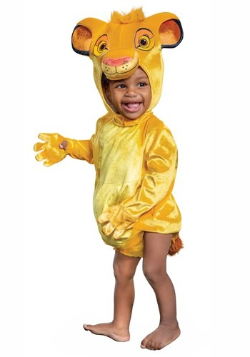 Click Here to buy Disney Lion King Baby Simba Costume from HalloweenCostumes, CDN Funds & Shipping