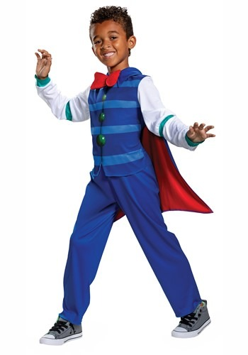 Click Here to buy Super Monsters Drac Shadows Classic Costume for Toddlers from HalloweenCostumes, CDN Funds & Shipping