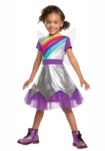 Click Here to buy Rainbow Rangers Lavender LaViolette Classic Costume for Toddlers from HalloweenCostumes, CDN Funds & Shipping