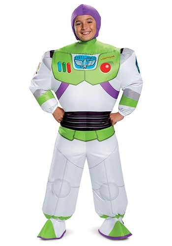 Kids Toy Story Buzz Lightyear Inflatable Costume