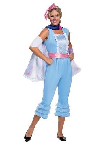 Click Here to buy Womens Toy Story Bo Peep Deluxe Costume from HalloweenCostumes, CDN Funds & Shipping