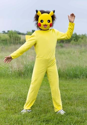 Click Here to buy Nintendo Pokemon Kids Pikachu Classic Costume from HalloweenCostumes, CDN Funds & Shipping