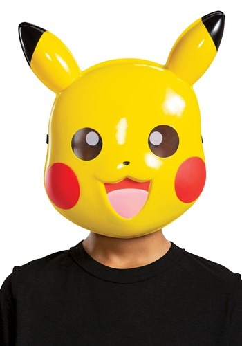 Click Here to buy Nintendo Pokemon Kids Pikachu Mask from HalloweenCostumes, CDN Funds & Shipping
