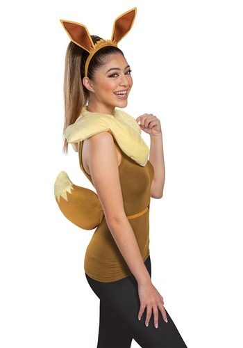 Click Here to buy Nintendo Pokemon Adult Eevee Accessory Kit from HalloweenCostumes, CDN Funds & Shipping