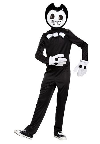 Click Here to buy Kids Bendy and the Ink Machine Bendy Classic Costume from HalloweenCostumes, CDN Funds & Shipping