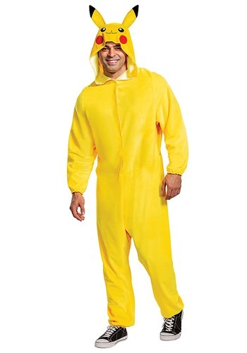 Pokemon Pikachu Classic Costume for Adults