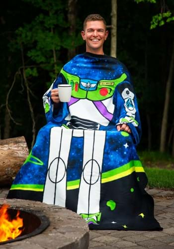 Toy Story Buzz Lightyear Adult Comfy Throw