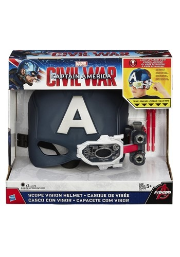 Avengers Endgame Captain America Scope Vision Helmet