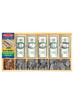 Melissa & Doug Play Money