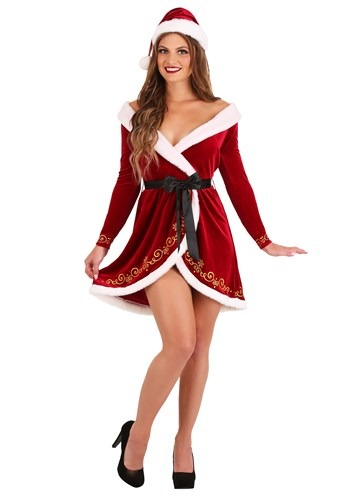 Click Here to buy Sexy Mrs. Claus Womens Costume from HalloweenCostumes, CDN Funds & Shipping