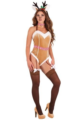 Click Here to buy Sexy Womens Reindeer Costume from HalloweenCostumes, CDN Funds & Shipping