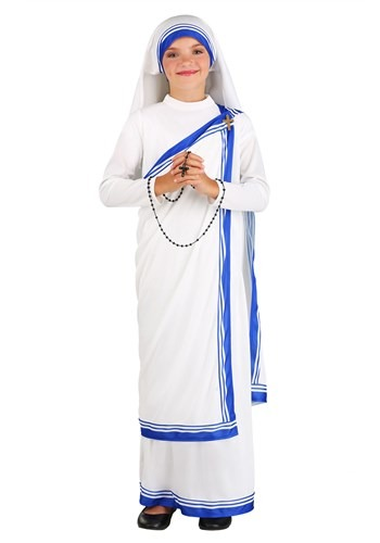 Girl's Mother Teresa Costume