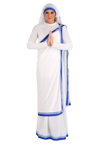 Click Here to buy Mother Teresa Womens Costume from HalloweenCostumes, CDN Funds & Shipping