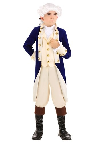 Alexander Hamilton Costume for Boys