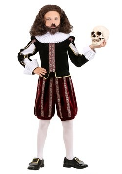 Boy's William Shakespeare Costume