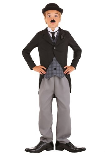 Click Here to buy Charlie Chaplin Boys Costume from HalloweenCostumes, CDN Funds & Shipping